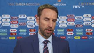 Gareth SOUTHGATE – England - Final Draw Reaction