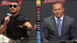 UFC 217: Bisping vs St-Pierre - Las Vegas Press Conference Highlights