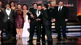 EMMYS 2014 - The Colbert Report WINS EMMY AWARD FOR OUTSTANDING VARIETY SERIES [HD]