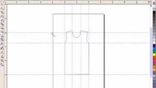 Drawing t shirt using corel draw