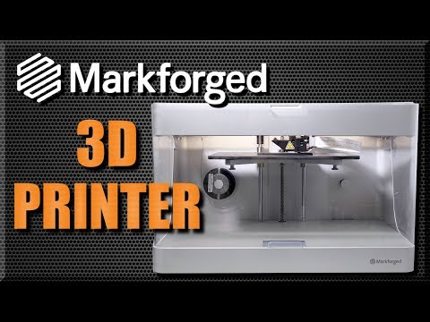 video MarkForged Mark 2