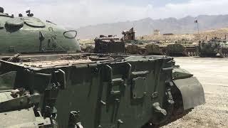 Afghan military's old tanks