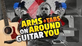 XXXTentacion and Lil Pump - Arms Around You (Fingerstyle Guitar Cover With Tabs)