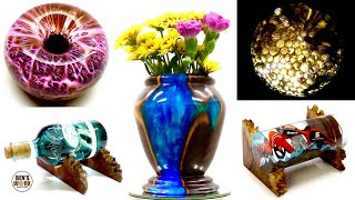 5 Amazing Epoxy Resin Art Projects