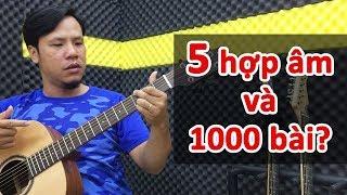 5 hợp âm cơ bản chơi được cả 1.000 bài hát | Học đàn guitar cấp tốc