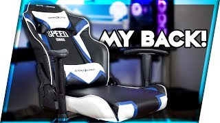 The 145$ Gaming Chair That Doesn't Suck! | GT Racing Chair Review