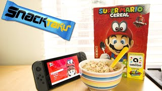 Snacktaku Eats Super Mario Cereal