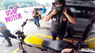 DUAL VLOG WITH JMAC ON THE DUCATI SCRAMBLER   CUP CAKE HUNTING   DAILY VLOG 3
