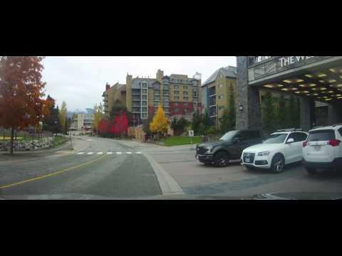 Driving around Whistler, British Columbia - Canada