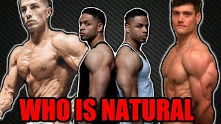 YouTubers Naturally Attainable Physiques