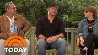 Chris Pratt, Bryce Dallas Howard, Jeff Goldblum & Cast Of 'Jurassic World: Fallen Kingdom' | TODAY