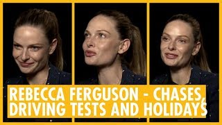 Rebecca Ferguson Puts Cruise in His Place . Mission: Impossible Fallout Interview