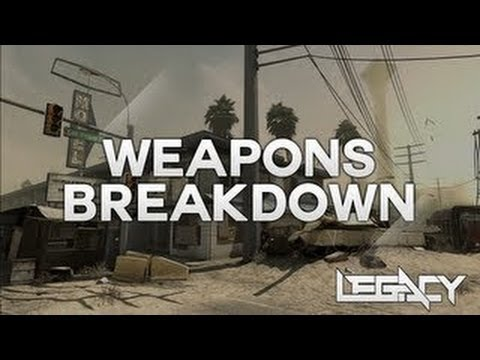 Call Of Duty: Ghosts Multiplayer Weapons Breakdown - Assault Rifles, SMGs, Shotguns, Snipers & More! - Smashpipe Games