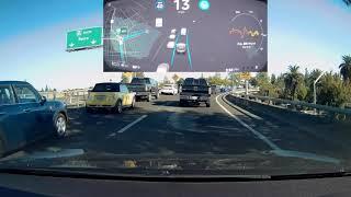 Tesla Version 9 2018.39.6 Autopilot Extended Drive