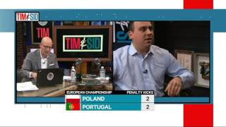 T&S: Sid Seixeiro loses it while watching Poland-Portugal in penalties