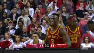 Iowa State vs Texas Tech Men's Basketball Highlights
