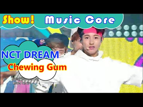 [HOT] NCT DREAM - Chewing Gum, 엔씨티 드림 - 츄잉 껌 Show Music core 20160827