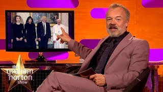 Graham Norton Ridicules Donald Trump's Foreign Trip