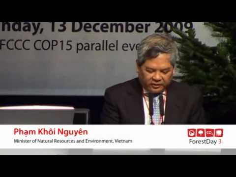 Forest Day 3-Global views : Pham Ngoi Nguyen-Speech