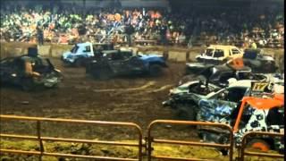 Demolition Derby 2015 -Redneck Rumble Highlights & Winners
