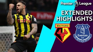 Watford v. Everton | PREMIER LEAGUE EXTENDED HIGHLIGHTS | 2/9/19 | NBC Sports