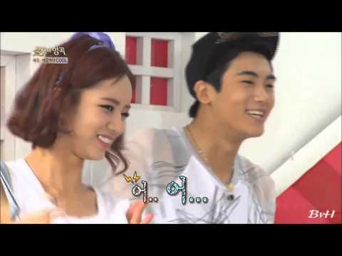 Hyeri of Girl's Day dances for Hyungsik of Z:EA! HAWT!