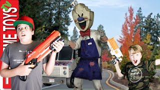 Ice Scream Man Horror Game Comes to Life for the Sneak Attack Squad!