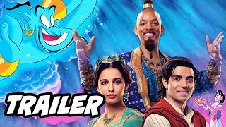 Aladdin Teaser Trailer 2 Will Smith Reaction and Disney Changes Explained