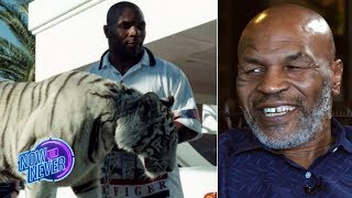 Mike Tyson reveals how he got his white tiger and discusses life after boxing | Now or Never
