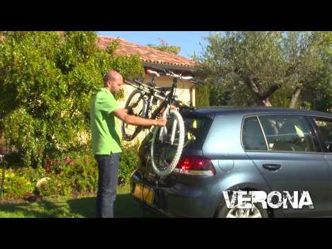 Verona Rear Mount 3 Cycle Carrier