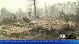 Wildfire Reduces Whole Santa Rosa Neighborhood To Rubble