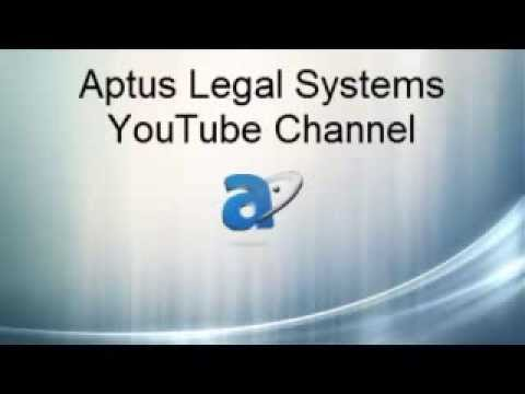 Aptus Legal Systems - Document Management, Imaging, Case Management and Time & Billing solutions