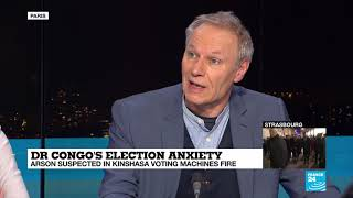 It's going to be very difficult to vote in Kinshasa - Patrick Smith on Kinshasa election fire