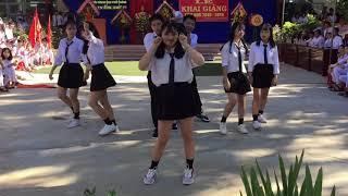 Nhảy hiện đại (Baam + DDU-DU-DDU-DU + Học mèo kêu)  A4K17 Nguyễn Diêu