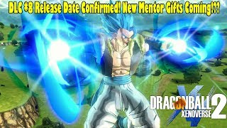 Xenoverse 2 DLC 8 Release Date Confirmed!? New Gogeta Blue Screenshots & Mentor Gifts Coming Back!