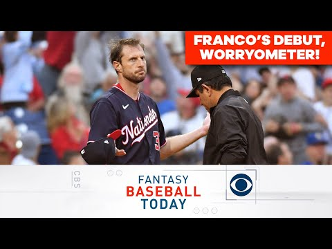 Wander Franco's AWESOME Debut, Worryometer & More!   Fantasy Baseball Today