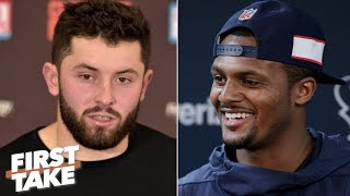 Deshaun Watson was more electric than Baker Mayfield as a rookie - Ryan Clark | First Take