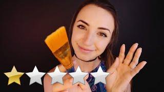ASMR | WORST Reviewed Make-Up Salon