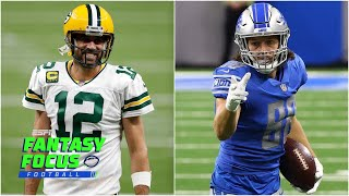Week 2 standouts, injury updates, and Lions v Packers preview   Fantasy Focus Live!