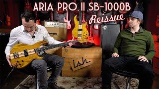 Aria Pro SB-1000B Bass MIJ Reissue - The Triumphant Return to America