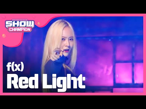 (ShowChampion EP.111) fx - Red Light (에프엑스 - 레드라잇)