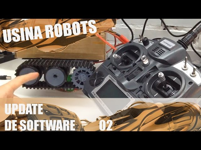 UPDATE DE SOFTWARE 02 | Usina Robots US-2 #026