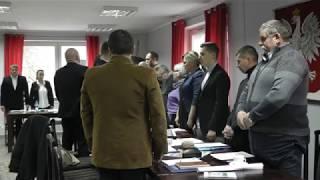 W Ośrodku Kultury, Sportu i Turystyki we Wleniu dnia 24 stycznia 2019r. odbyła się V Sesja Rady Miasta