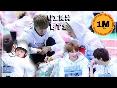 BTS VIXX [ ISAC 2017 ] MOMENTS ft. Sandeul