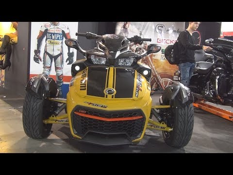 @CanAm #BRP F3-S (2017) Exterior and Interior in 3D