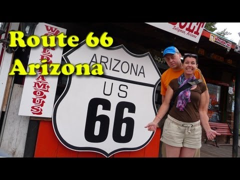 3D Route 66 in Arizona - Our Next Adventure Travel Show by AdventureArt