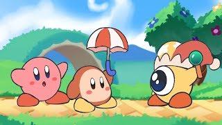 Kirby Star Allies Animation