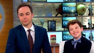 Jim Parsons and Iain Armitage talk CBS'