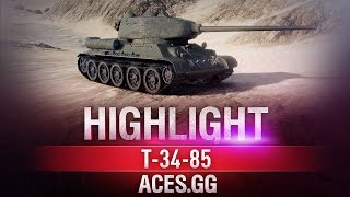 Лучший! Т-34-85