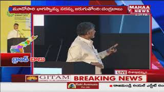 CII Partnership Summit: Chandrababu's speech..